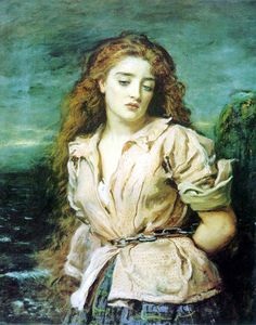 Millais... The Martyr of the Solway