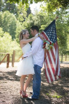 4th of July Backyard Wedding Inspiration