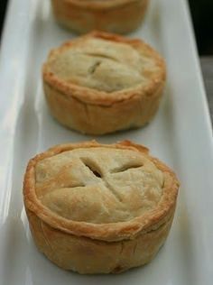 vegan harvest pies (with butternut squash, cranberries, carrots, potato, kidney beans and herbs). yum!