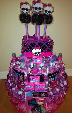 Monster High Candy Tower From Artful Favors