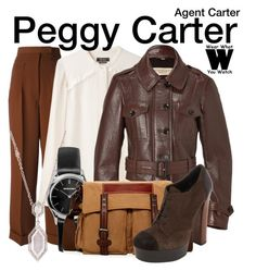 Agent Carter by wearwhatyouwatch on Polyvore featuring polyvore, fashion, style, Isabel Marant, Burberry, Jean-Paul Gaultier, Barneys New York, TSD, Emporio Armani, Judith Ripka, women's clothing, women's fashion, women, female, woman, misses, juniors, television and wearwhatyouwatch