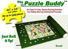 The Puzzle Buddy 42inch by 42 inch - Jigsaw Puzzle Mats - Simply Easy Storage http://jigsawpuzzlesforadults.com/jigsaw-puzzle-mats/