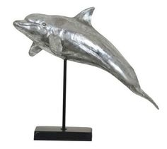 Crestview Collection Dolphin Jump Statue