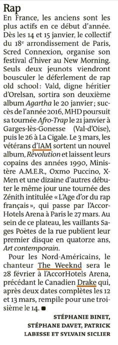 IAM dans Le Monde le 12 janvier 2017