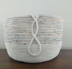 1000+ ideas about Rope Basket on Pinterest | Fabric bowls, Fabric ...