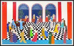 John Lim Paintings | La Galerie Shayne - The Shayne Gallery Popular Paintings, Printmaking, Kids Rugs, Illustration, Pretty, Artist, Kid Friendly Rugs, Illustrations, Artists