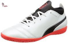 Adreno II It, Chaussures de Football Compétition Homme, Rouge (Red Blast White Black 08), 45 EUPuma