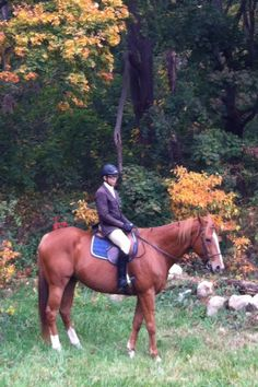 Scaramouch and I. Old Westbury Park, Fall 2012