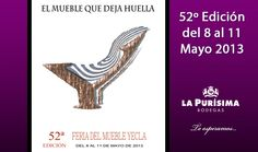 Bodegas la Purísima en la Feria del Mueble de Yecla 2013. Te esperamos! Pandora, Foot Prints, Wine Cellars, News