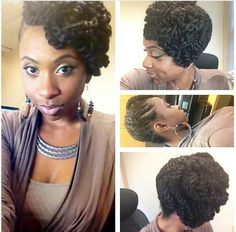 ~ Protective Style Updo ~