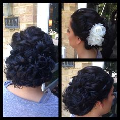hair styles formal wedding updo heater gorgeous salon salisbury md 2901