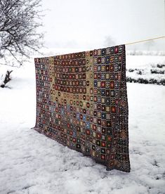 Granny square pattern by Ros Badger