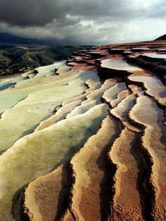 Badab Soort Ponds by Abbas Arabzadeh. Badab Soort Ponds is located in the highlands of Mazandaran province in Iran, including the natural beauty that is unique in the world in Turkey, U. S. and Iran. These ponds are created during millions of years of rain by mineral deposits.