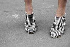 Striped Shoes.