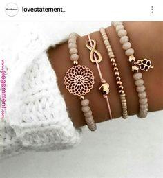docona Boho Heart Orange Beadeds Bracelet Set for Women Flower Chains Adjustable Bracelet Bangle Pulseiras Party Jewelry 4019 Cheap Charm Bracelets, Cute Bracelets, Bracelets For Men, Silver Bracelets, Bangle Bracelets, Gold Earrings, Vintage Earrings, Handmade Bracelets, Statement Earrings