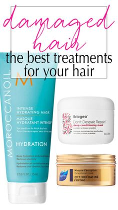 #ad The Best Intensive Hair Conditioners for damaged hair! Great list to keep just in case!