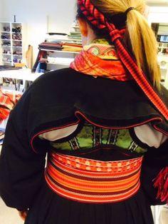 Beltestakk med jakke Folk Costume, Costumes, Folk Clothing, Norway, Scandinavian, All Things, Culture, Embroidery, Clothes