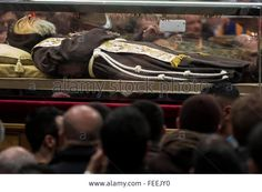 Vatican City. 5th Feb, 2016. Relics of Saint Pio of Pietrelcina aka #PadrePio arrive at St. Peter Basilica. © Giuseppe Ciccia/Pacific Press/Alamy Live News