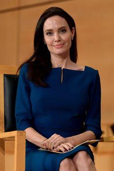 Angelina Jolie at United Nations in Switzerland March 2017 | POPSUGAR Celebrity