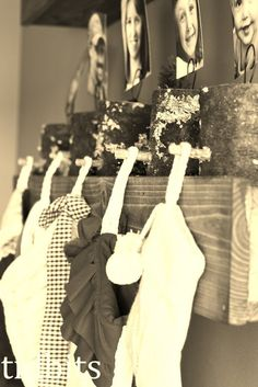 And the Stockings were Hung on the Shelf with Care - Tidbits