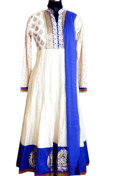Stylefortune  Gota Border Designer Suit  On order Stitching  Call : 7568742391 Mail Us : shopstyle14@gmail.com