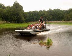 WILD BILLS AIRBOAT RIDES - Withlacoochee River, Rutland Florida - Inverness Florida, Central Florida - USA.