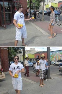 life is giving them lemons!!!!!!!!!!!!!!!!! lol.