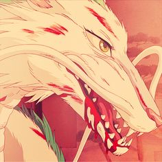 Spirited Away Haku Dragon