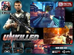"""Zombie Mayhem is back from makers of Dead Trigger 2 comes """"Unkilled"""" ,Metal Enhanced & Full support for MFi Game Controllers!  (FREE DOWNLOAD)"""