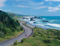 Hugging the Oregon coastline is Highway 101, which also features beautiful coastal views and is equally deserving of a Pacific Coast Highway road trip.