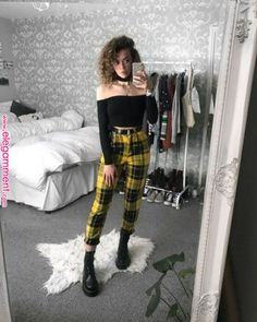 Inspiration sieht Lollapalooza 2019 - { fave outfits - outfit - looks } - Damenmode Edgy Outfits, Mode Outfits, Fashion Outfits, Grunge School Outfits, Fashion Ideas, Womens Fashion, Cute Grunge Outfits, Grunge Clothes, Hipster Outfits
