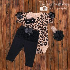 795f7ffe13d8f Keepsake Konnections · Newborn Outfits · Baby Girl Leopard Outfit Newborn  Girl Take by KeepsakeKonnections Leopard Outfits