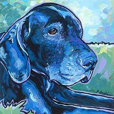 """No. 13/60 Burly"" - Original Fine Art for Sale - � Nadi Spencer"