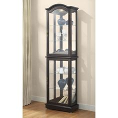 You'll love the Loyer Curio Cabinet at Wayfair - Great Deals on all Furniture products with Free Shipping on most stuff, even the big stuff.