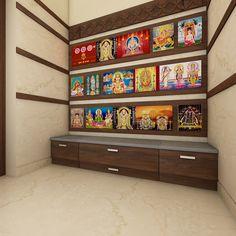 Puja room, Mr.Arun's residence …