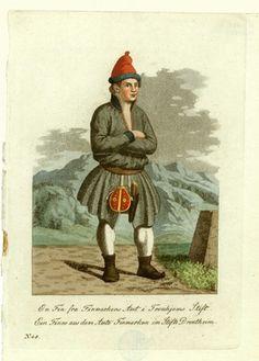 Sami costume from Finnmark Norway