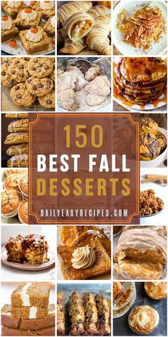 The best season of the year has to be Fall. This is the time when families reunite for Thanksgiving after a long time being apart. After having your Thanksgiving dinner, wouldn't it be nice to have a delicious dessert, perfectly matched to the Fall? Fall Dessert Recipes, Great Desserts, Köstliche Desserts, Fall Recipes, Delicious Desserts, Desserts Faciles, Autumn Desserts, Thanksgiving Recipes, Dessert Ideas
