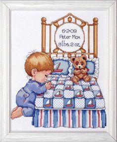 Baby Birth Announcements - Cross Stitch Patterns & Kits (Page 2) - 123Stitch.com