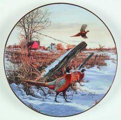 Field Birds of North America: Ring-Necked Pheasant - WS George - Artist: Darrell Bush
