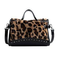bandoulière Design PU Leopard cuir Sacs COOSUN Pattern Femmes en à FxEwxq0