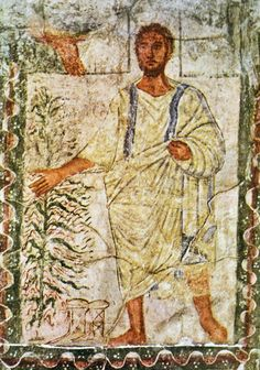 Moses and the burning bush. Painting from Dura Europos Synagogue, C. Fresco detail Date: last phase of painting cycle dated by Aramaic inscription to 244 C. Gabrielle Sed-Rajna, Abcedaire du Judaïsme, Paris: Frammarion, p. 245 C. Black History Books, Black History Facts, Early Christian, Christian Art, Jesus Clothes, Black Hebrew Israelites, Black Jesus, Burning Bush, Before Us