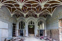 Chateau de Noisy,Chateau Miranda,urbex,verlaten kasteel,belgië