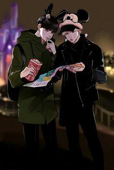#bts #jimin & #jungkook