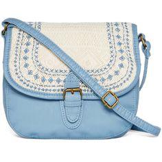 T-Shirt & Jeans™ Washed Double-Pocket Hobo Bag ($29) ❤ liked on Polyvore featuring bags, handbags, shoulder bags, purses, bolsa, hand bags, imitation handbags, blue shoulder bag, hobo purse and blue handbags