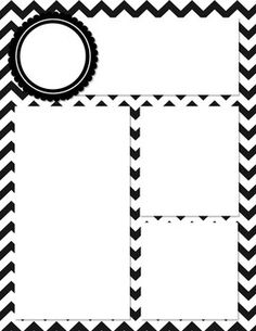 FREEBIE: Black and White Chevron Newsletter Template! This is a cute, black and white chevron newsletter template. Simply open it in Power Point and add text boxes where you want them! Customize with c. Red Classroom, Chevron Classroom, Classroom Themes, Classroom Organization, Classroom Management, Newsletter Template Free, Newsletter Ideas, Templates Free, Meet The Teacher Template