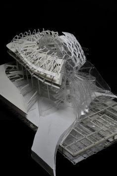 W:Blut - Inspiration Futuristic Architecture, Architecture Details, Architecture Models, Architecture Collage, Urban Heat Island, Neoclassical Interior, Arch Model, Hospital Design, Facade Design