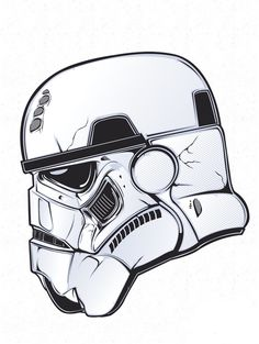 HYDRO74 ILLUSTRATION GRAPHIC DESIGN ART POSTER STORMTROOPER STAR WARS
