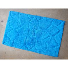 Mandala Cotton Mat - Light Blue (50cm x 80cm) - Mode Alive - Home Decor Heaven