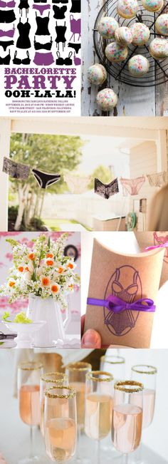 Lingerie Theme Bachelorette Party Inspiration Board | Ultimate Bridesmaid