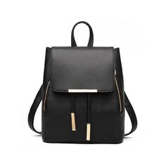 c334bbb08662 Women Daily Backpacks Daypack Girl School Bag PU Leather Bags Candy ...